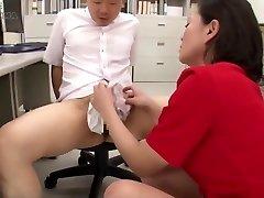 Japanese Nylon Panty Hand Job Cum