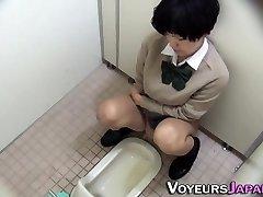 Japanese nubile pissing