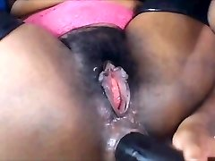 Ebony Anal Fist and Deep Gullet-clamcams.com