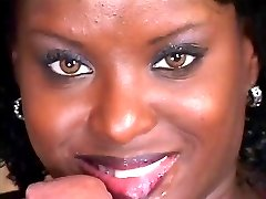 A Black Beauty Gets Fucked In All Her Holes