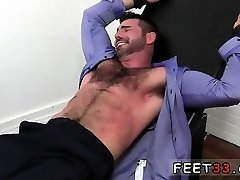 Naked feet flick homo Billy Santoro Ticked Naked