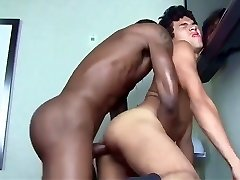 Giant black cock for slut