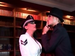 Radny mega-bitch shoves a stick in policewoman's backdoor