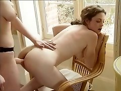 Incredible Homemade clip with Strap Dildo, Lezzie scenes