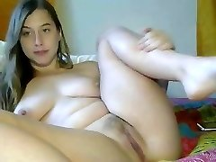 Stunning immature masturbating for web camera
