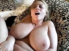 blond mommy with big hangers (anal) fucked