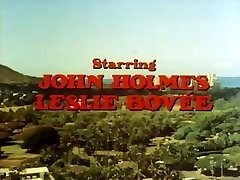 Classic porn with John Holmes getting his meaty cock deep throated