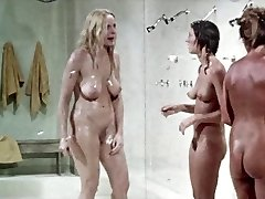 Shower scene from.  Prison Femmes,  vintage