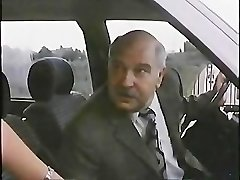 Elderly Man With Hooker In Car 1