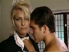 TT Boy sploogs his wad on blonde cougar Debbie Diamond