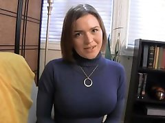 Krissy gives her sister's BF a handjob