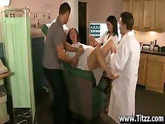 A Blowjob from Nurse Ann Marie to Calm him