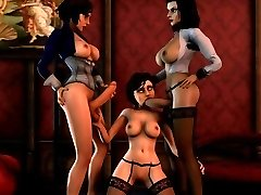 Bioshock 3D sex compilation