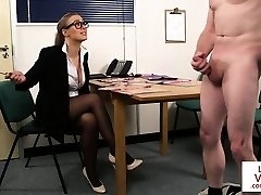 English spex hidden cam instructs jerkoff action