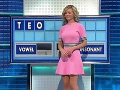 Magnificent Rachel Riley Gets An Erection