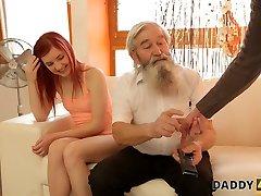 daddy4k. experiencia inesperada con un señor mayor