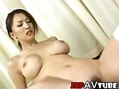 Chesty japanese nurse gets cumshot
