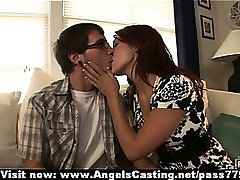 Swinger couples switching partners and sweet talking and kissing