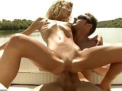 Skinny Ioana Anal on a Boat