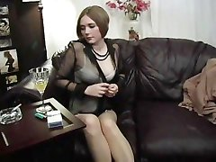 Smoking Hot In Nylons - Scene 3