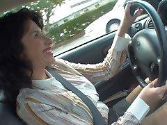 Carro masturbação