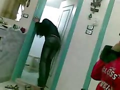 Nasty Kurdish Arab Hostel girls having fun