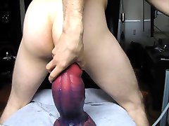 BadDragon XLCrackers Basilisco Fisting Twink Anal Extremo 2