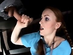 Impatient Nurse Uses Milking Table To Jerk Her Patient.