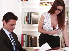 Big Tit Office Seducer