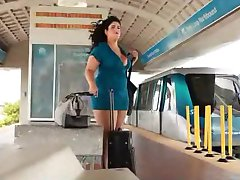 bbw picked up at the train station