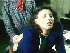 německý vintage anal clip - sekretářka dostane vyprdnul