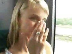 naughty on bus