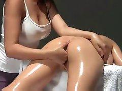 Multiorgasmic Massage With Oil
