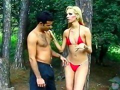 Tall Ash-blonde Brazilian Shemale