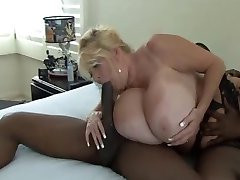 Huge Tit Kayla Takes Black Cock