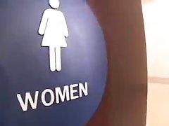 Crissy Moon Anal on Toilet