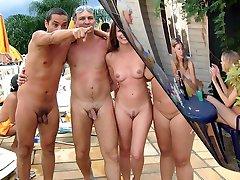 Enjoying summer in the Nude