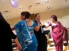 super-sexy nepali aunty dancing in soiree