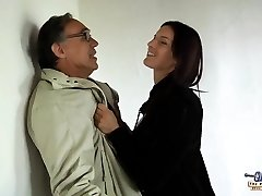 Young tall college girl fucks old man for money discount