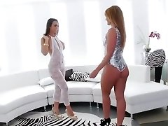 Incredible Ass Licking, Brunette sex clip