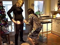 Alison and Zara - Ass-fuck act - Real life crossdressers