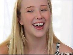 The Loveliest Blonde Teen Slut Interview Nail