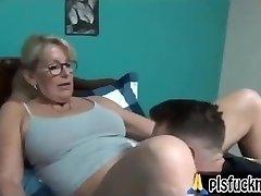 Mom fucks son