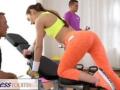 FitnessRooms Teen babe gets ravaged after her sweaty workout