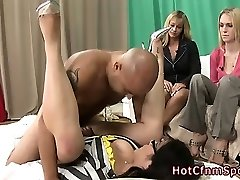 Cfnm babe penetrating hard