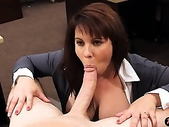 Big boobies amateur housewife sells her pussy for bail