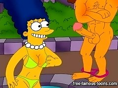 Simpsons and Griffins xxx orgy