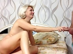 Ultra-cutie Russian Amateur Girl Makes Bj and Cum in MOuth