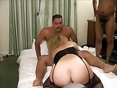 Hot Mustache Daddy-Bear in a gang bang