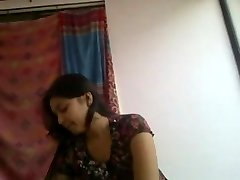 Supah cute and horny desi indian girlfriend